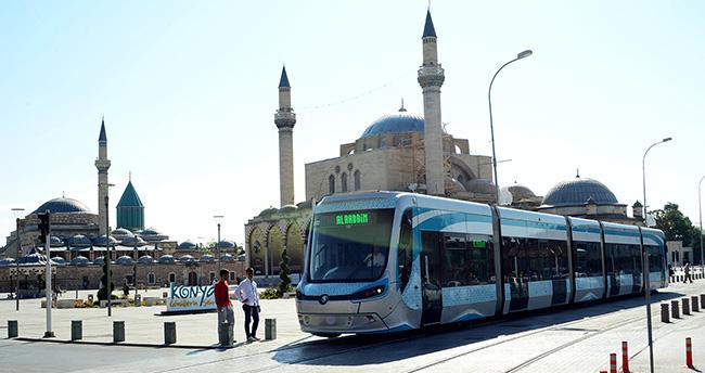 Konya'da 7 günlük ücretsiz ulaşım başladı!