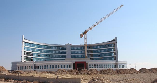 Türkiye'nin ilk hilal mimarisine sahip hastanesi
