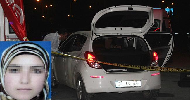 Konya'da bir kadın benzinlikte tabancayla kendini vurdu