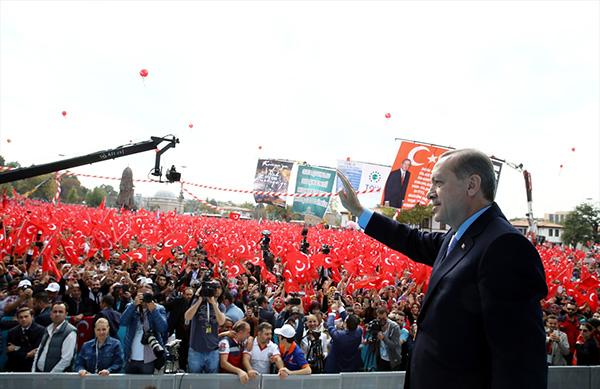 Cumhurbaşkanı Erdoğan Konya'da – Foto Galeri