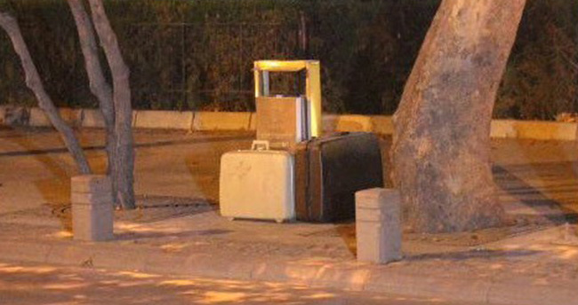 Konya'da şüpheli valiz paniği