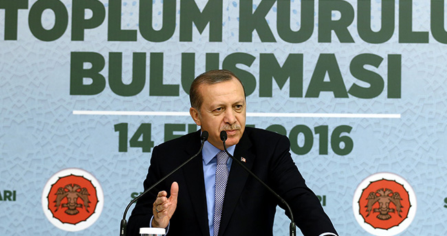 Cumhurbaşkanı Erdoğan, Konya'da STK temsilcileriyle buluştu