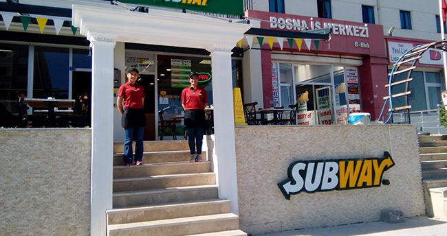 Subway Bosna'da açıldı