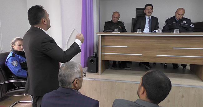 Beyşehir'de ilçenin güvenliği masaya yatırıldı