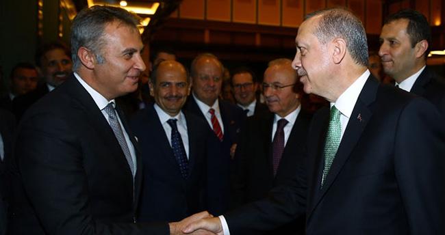 Erdoğan bizzat kutladı