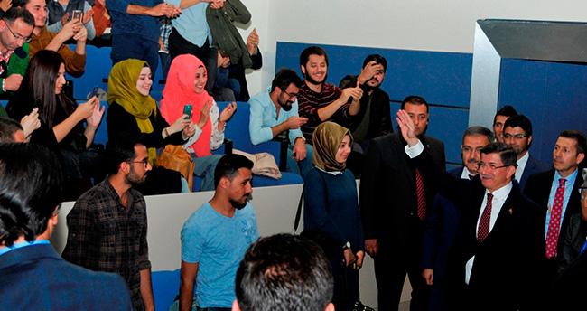 Prof. Dr. Davutoğlu Selçuk Üniversitesi'nde