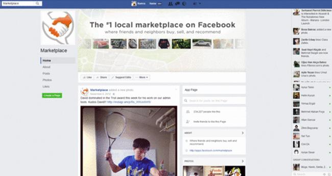 Facebook'tan yemek siparişi verilebilecek