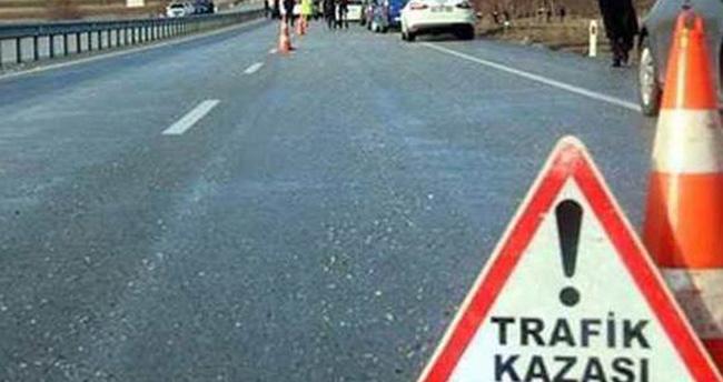 Konya-Isparta yolunda feci kaza: 2 ölü, 3 yaralı