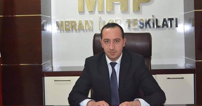 MHP Meram'dan Başkan Toru'ya destek