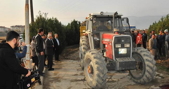 Akşehir pancar bölge şefliğinde alımlar başladı