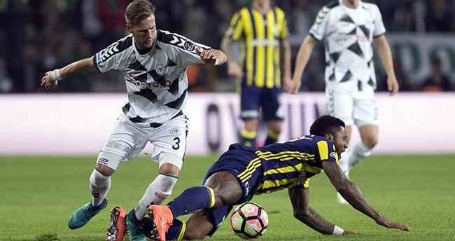 Atiker Konyaspor 0-1 Fenerbahçe