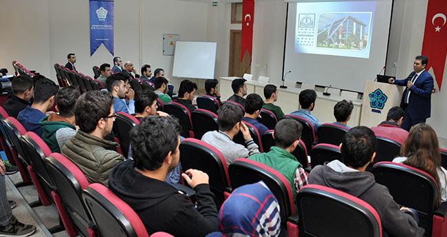 Konya MMO Başkanı Duransoy NEÜ'de öğrencilerle buluştu