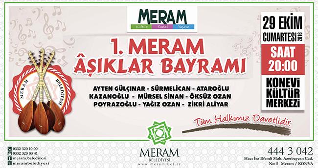 Meram'da Âşıklar Bayramı