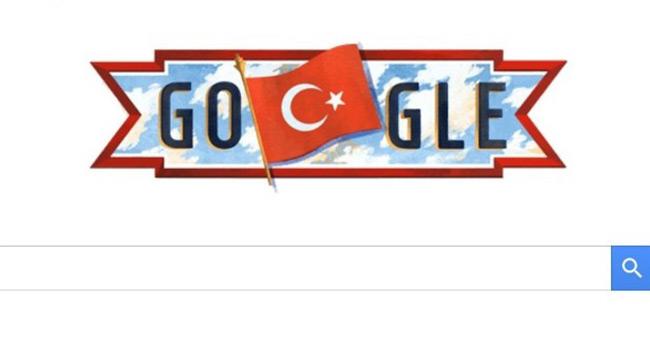 Google'dan 29 Ekim Cumhuriyet Bayramına özel doodle