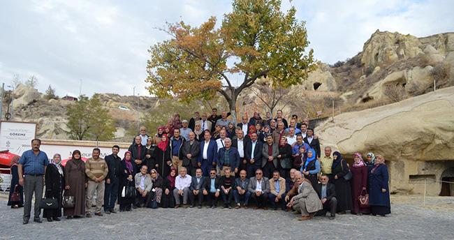 Meramlı Muhtarlar Kapadokya'yı gezdi