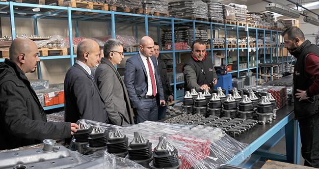 Otokar, KSO'da Konyalı sanayicilerle buluştu