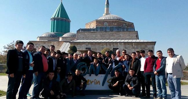 Kazakistanlı firmadan başarılı çalışanlarına Konya gezisi