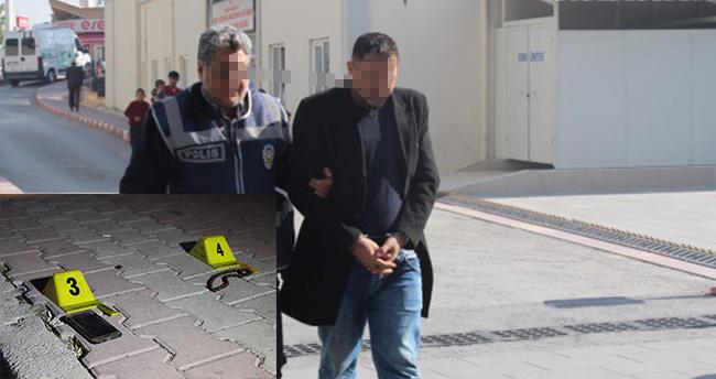Konya'da kundakçıyı cep telefonu yakalattı