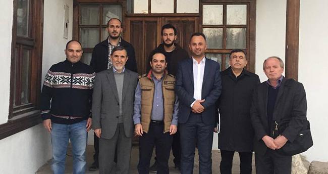 Karadağ'dan Konya'ya teşekkür için geldi