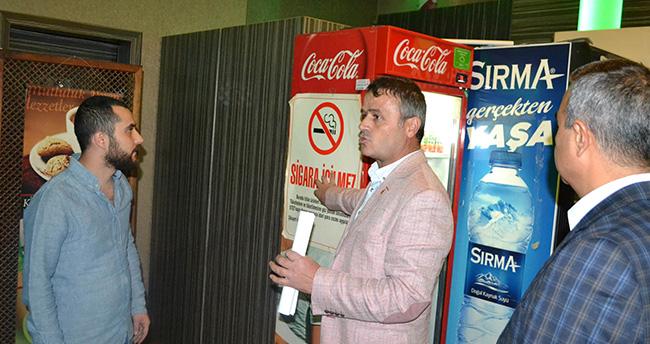 Konya'daki işletmelere tütün denetimi