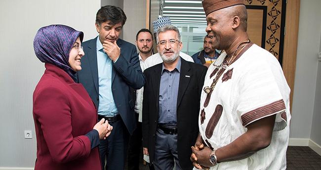 Nijeryalı bakandan Başkan Toru'ya ziyaret