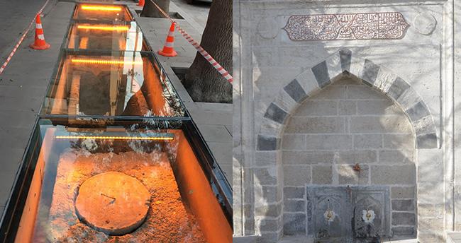 Konya'da tarihi Selimiye çeşmesi restore edildi