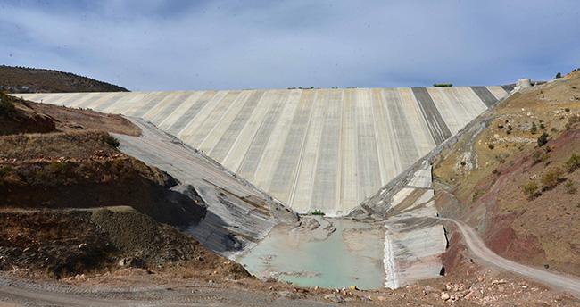 Afşar Hadimi Barajı ile 116 bin 600 dekar zirai alan suya kavuşacak