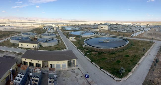 Konya'da arıtma çamuru gübre oluyor