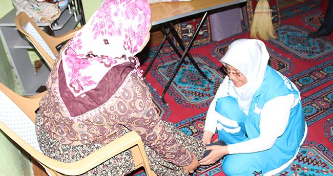 Beyşehir Belediyesinin yaşlılara evde bakım hizmeti