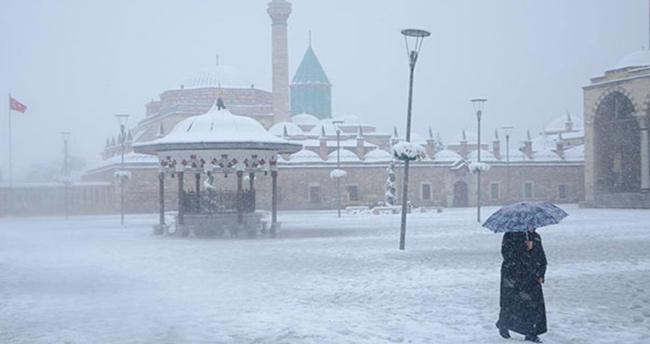 Konya'da bugün hava nasıl olacak? Konya hava durumu!