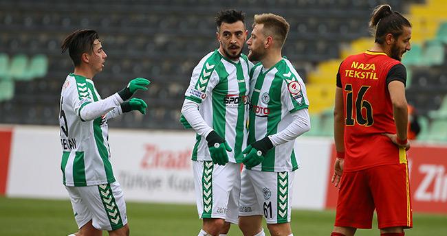 Kızılcabölük Spor Kulubu 0 – 4 Konyaspor
