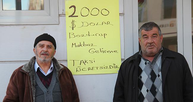 Çankırı'da dolar bozdurana ücretsiz taksi hizmeti