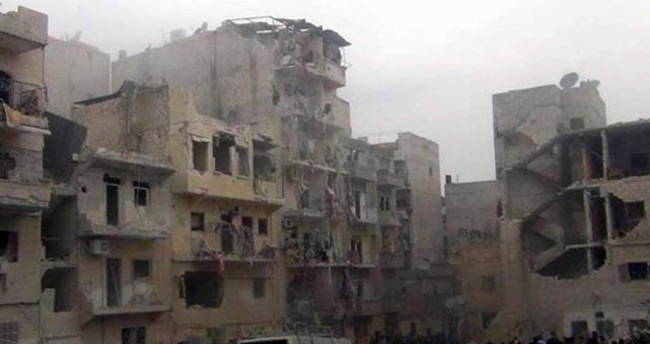 Esad rejimi Halep'te sivilleri katletti : 990 ölü