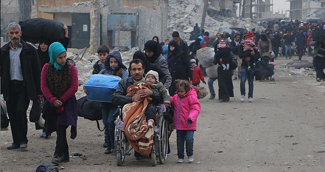 İHH, Halep'ten çıkacak aileler için 20 bin gıda kolisi hazırlıyor