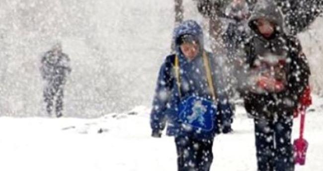 Konya'nın iki ilçesinde eğitime kar engeli