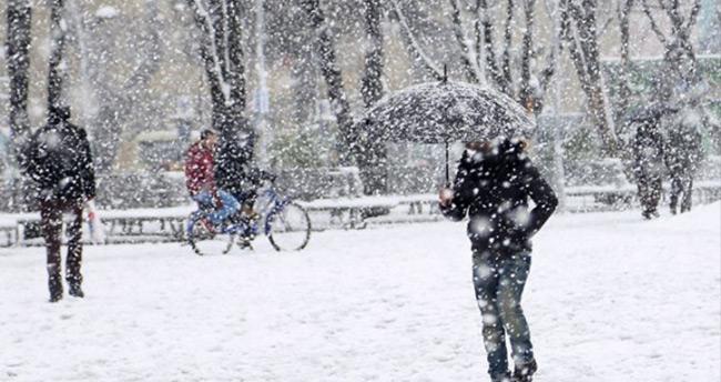 Selçuk Üniversitesi'nde 'kar tatili'