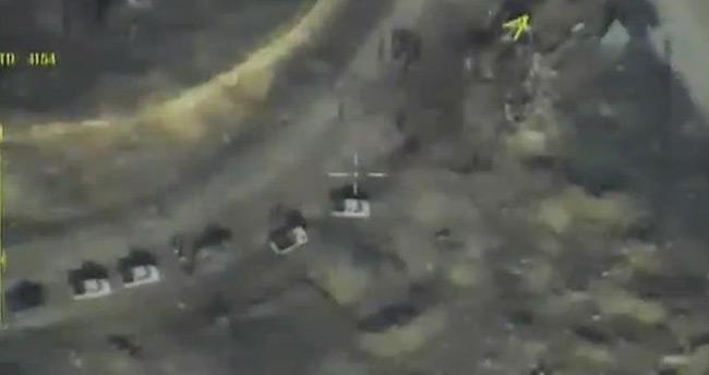 Halep konvoyu güzergahına bir saldırı daha!