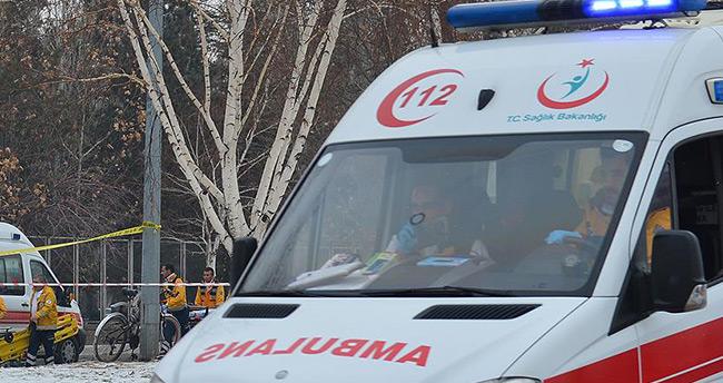 """Kayseri Valisi Süleyman Kamçı: """"Canlı bomba saldırısı, maalesef şehit ve yaralılarımız var"""""""