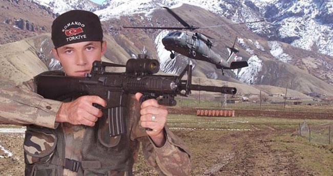 Kayseri'deki yaralı askerlerden biri Konyalı