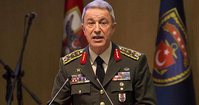 Genelkurmay Başkanı: Teröristle mücadelemiz son terörist etkisiz hale getirilinceye kadar sürecektir