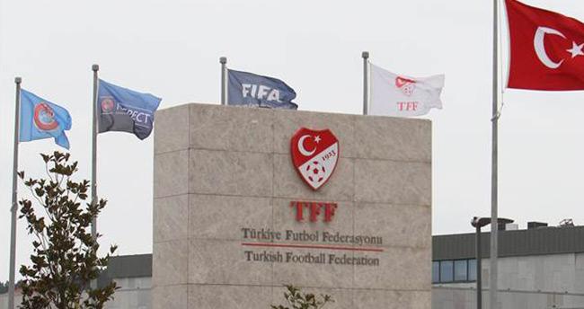 TFF'den teröre kınama mesajı!