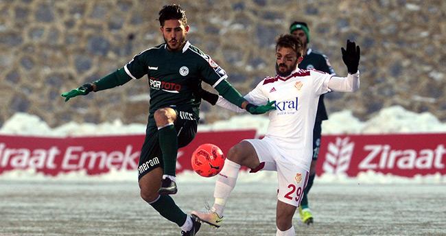Gümüşhanespor 1 – 1 Konyaspor