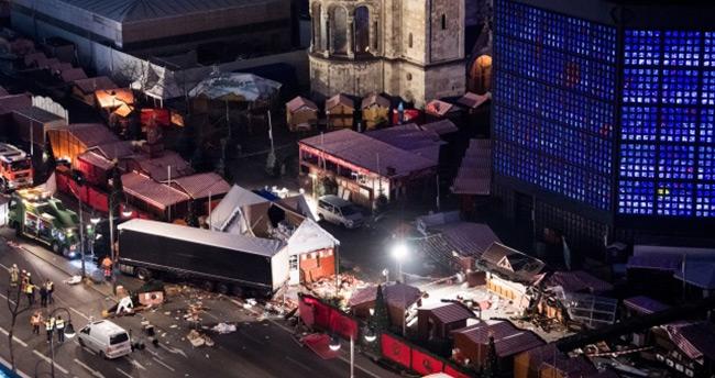 Berlin'deki saldırıyı DEAŞ üstlendi