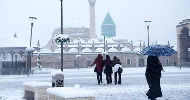 Konya'da kar yağışı ne zamana kadar sürecek?