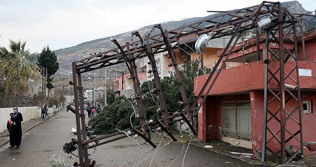 Akdeniz'de kar ve fırtına yaşamı olumsuz etkiledi