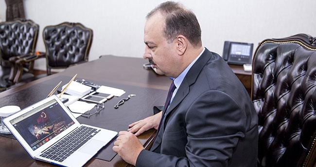 Konya Valisi yılın fotoğrafı oylamasına katıldı
