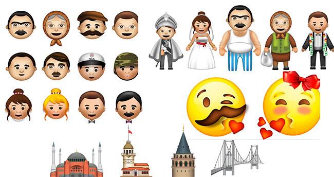Türk kullanıcılara özel 450 emojinin bulunduğu klavye geliştirildi