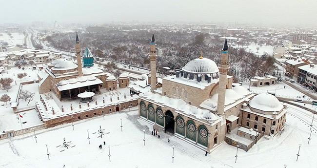 Konya'ya kar uyarısı yapıldı – Konya Hava Durumu