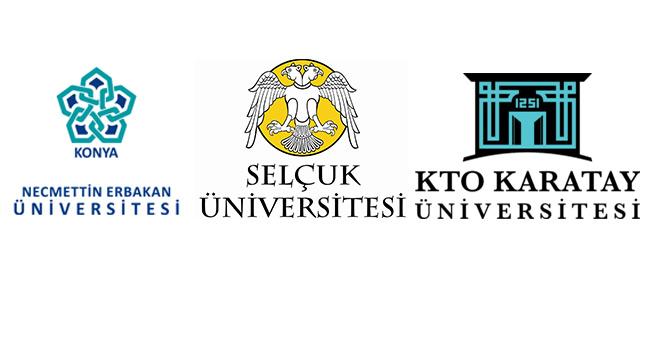 Konya'daki üniversitelerde eğitime kar engeli