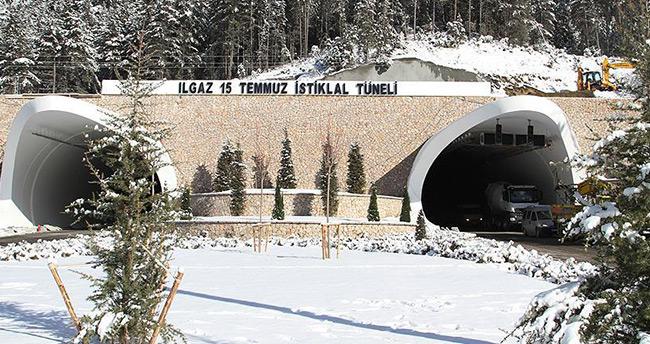 'Ilgaz'ı dize getiren' tünel açılıyor